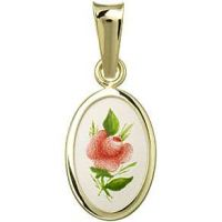 Red Rose Miniature Medal