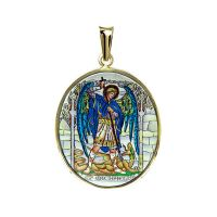 St. Michael Patron Saint of Soldiers Pendant
