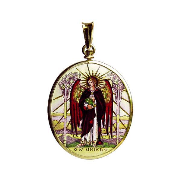 304-305H2 Archangels medallion side A Uriel