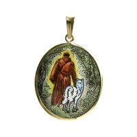 Sanctus Franciscus Assisiensis the Biggest Medal