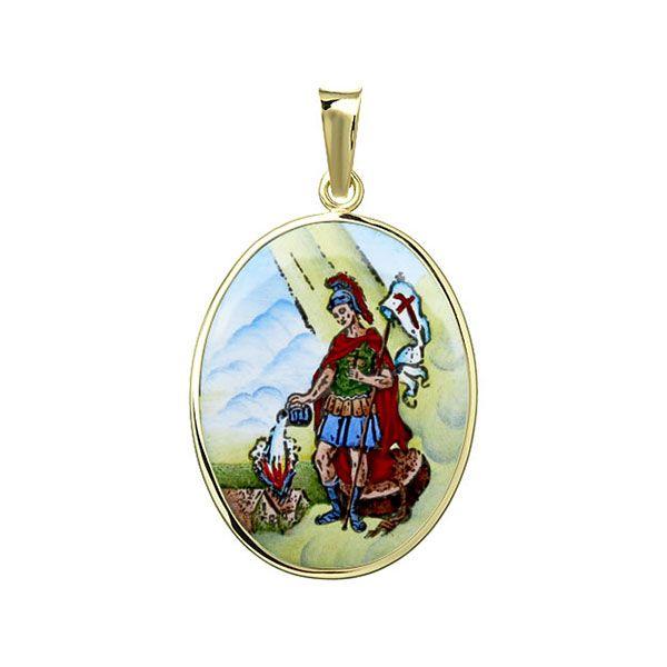 208H Saint Florian Medal