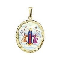 Assumption of the Blessed Virgin Mary the Biggest Medal