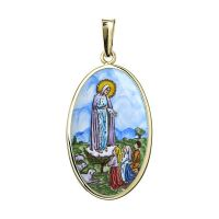 Our Lady of the Holy Rosary of Fátima the Biggest Medal