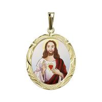 Sacred Heart of Jesus the Biggest Medallion