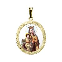 Our Lady of Carmel the Biggest Medallion