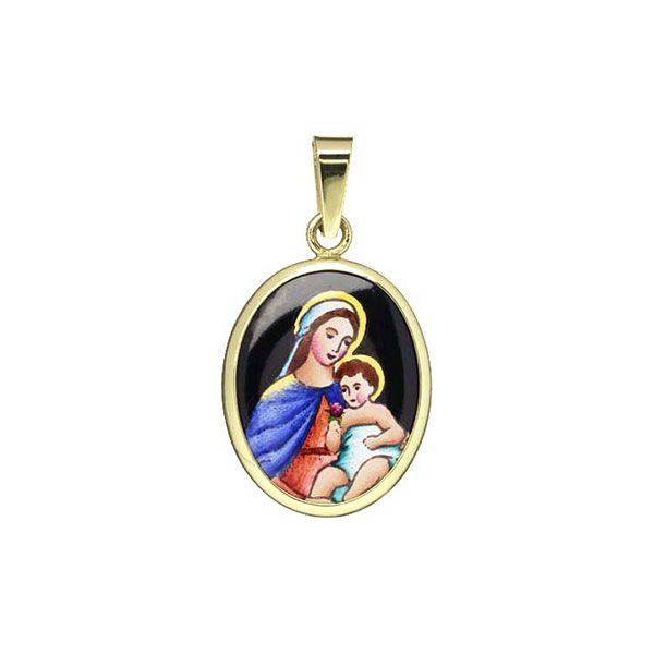 191H Madonna with Child Medal