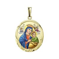 Our Lady of Perpetual Help the Biggest Medal