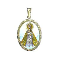 Our Lady of The Rosary of Manaoag Larger Medallion