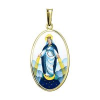 Our Lady of the Miraculous Medal the Biggest Pendant