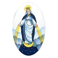 Semiproduct 572 Our Lady of the Miraculous Medal
