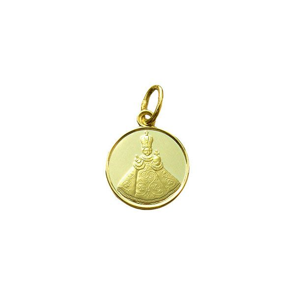 801 Infant Jesus of Prague Medal Gold