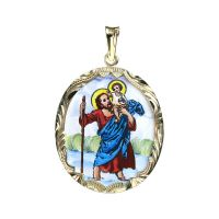 St. Christopher the Biggest Medallion