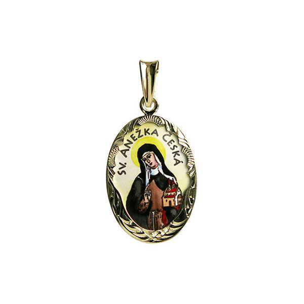 Saint Agnes of Bohemia Medallion