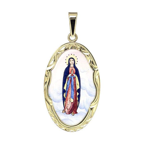 571R Holy Mary Medal