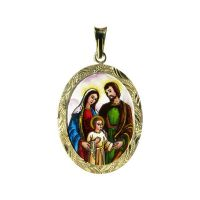 Holy Family Larger Medallion