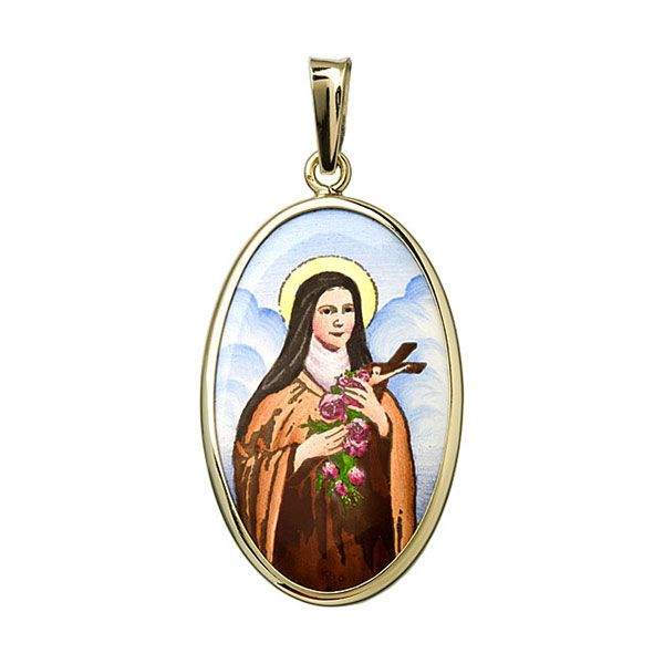 532H Saint Therese of Lisieux Medal