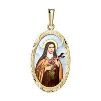 Saint Therese of Lisieux the Biggest Medallion