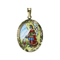 Saint Florian Medallion