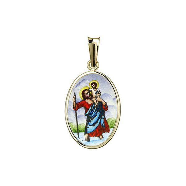 436H St Christopher Medal