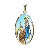 Our Lady of Lourdes the Biggest Medal