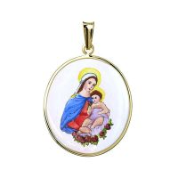 Virgin and Child Medal