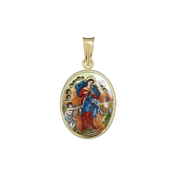 123H Mary Untier of Knots Medal