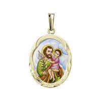 Saint Joseph Larger Medallion