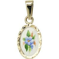 Flower Miniature Medallion