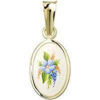 Floral Motif Miniature Medal